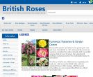 British Roses website